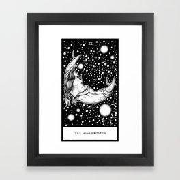 The High Priestess Tarot Framed Art Print