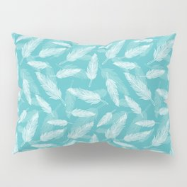 Seamless feathers pattern Pillow Sham