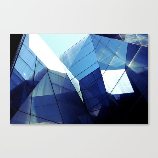 Diamond Glasses Canvas Print