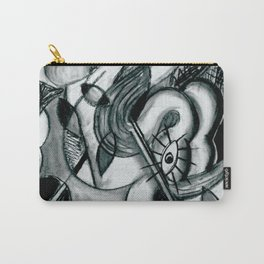 Abstract Snake Carry-All Pouch
