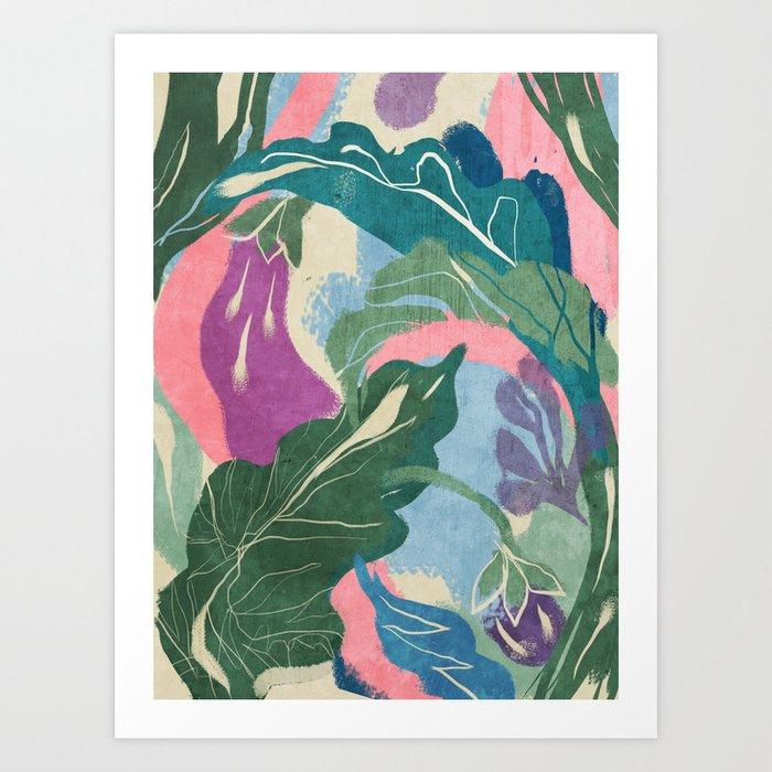 Berenjenas Art Print