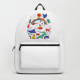Unicorns! All Animals Backpack