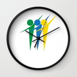 Cool & Awesome Unity Tshirt Design Unity People Wall Clock