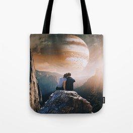 A Weird Planet Tote Bag