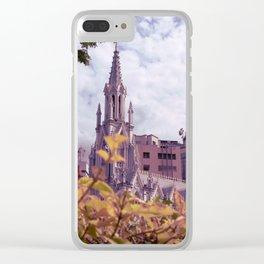 Iglesia La Ermita, Santiago de Cali Clear iPhone Case
