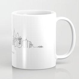 Philadelphia Skyline Drawing Coffee Mug