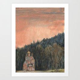 Crystal City 12-30-10a Art Print