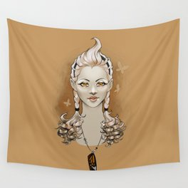 Golden Wall Tapestry