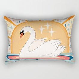 The stream of love Rectangular Pillow