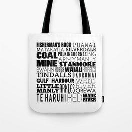 Hibiscus Coast - Version Four Tote Bag