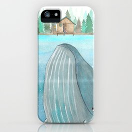 She knows he's there iPhone Case