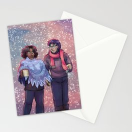 Leif & Thorn: I've Got My Love To Keep Me Warm Stationery Cards