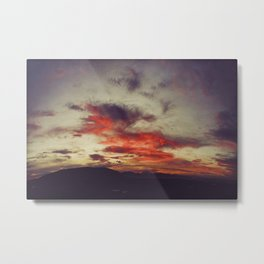 Supersaturated Dawn Metal Print
