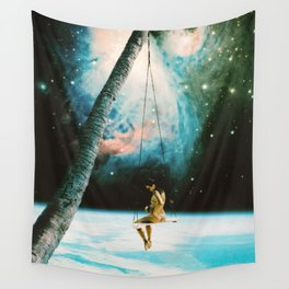 Hanging Out In Space Wall Tapestry