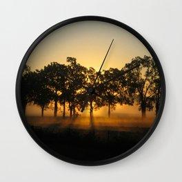 Sunrise Whispers Wall Clock
