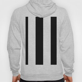 5th Avenue Stripe No. 2 in Black and White Onyx Hoody