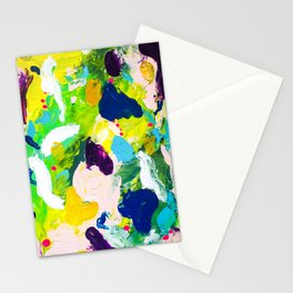 Steps of a woman Stationery Cards