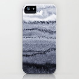 WITHIN THE TIDES - VELVET GREY iPhone Case