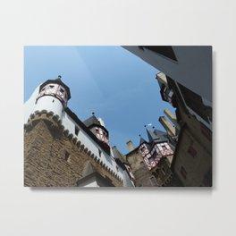 Burg Eltz Courtyard Metal Print