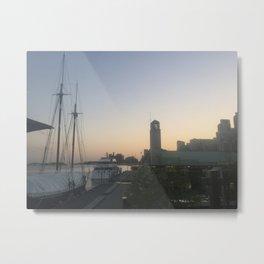 Pier 4 Toronto Metal Print