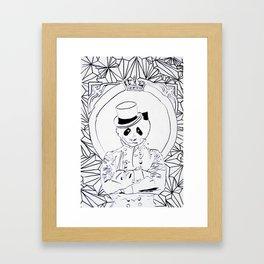 Pandi-Panda Framed Art Print