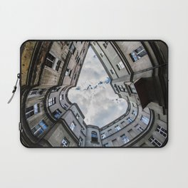Laying on the ground Laptop Sleeve