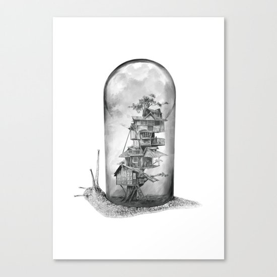 Evolving Home Canvas Print