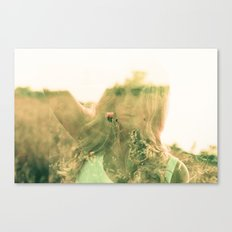 but darling, you mustn't go on without me... Canvas Print