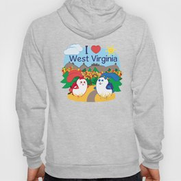 Ernest and Coraline | I love West Virginia Hoody