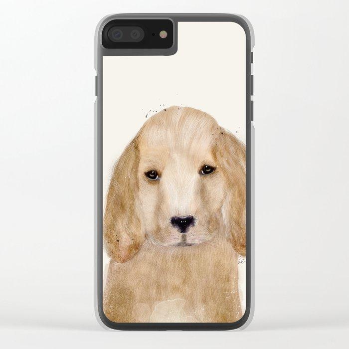 little spaniel Clear iPhone Case