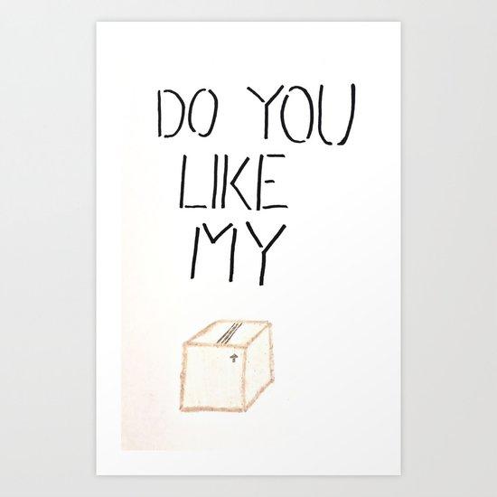 My Box Art Print