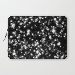 Sparkly Stars Laptop Sleeve