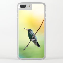 Humming Bird Clear iPhone Case