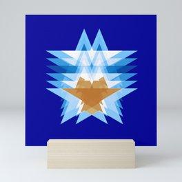 Captain Star Mini Art Print