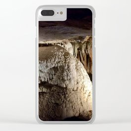 Cave formations Clear iPhone Case