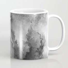 ink style of black watercolour texture Coffee Mug