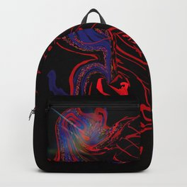 Confused in the dark Backpack