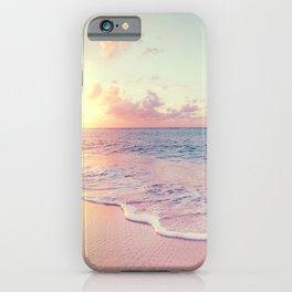 Summer Sun Going Down iPhone Case