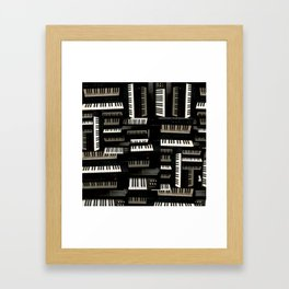 Keys Framed Art Print