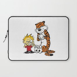 Calvin and hobbes Smile Laptop Sleeve