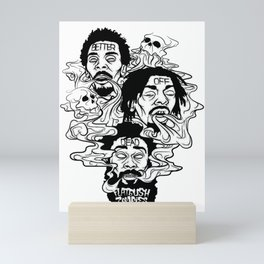 Flatbush Zombies BW Mini Art Print
