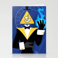 bill cipher Stationery Cards featuring Cipher by Palolabg