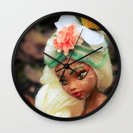 FAIRY Rebel Heart of Gold Wall Clock