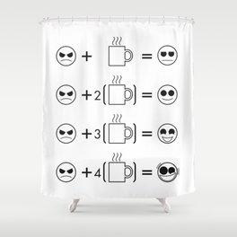 The Caffeine Hypothesis  Shower Curtain