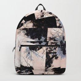 Beige et bois Backpack