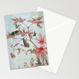 Maple And Butterflies Stationery Cards