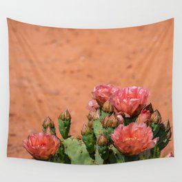 Cacti in Bloom - 5 Wall Tapestry