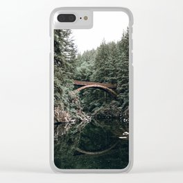 Moulton Falls Clear iPhone Case