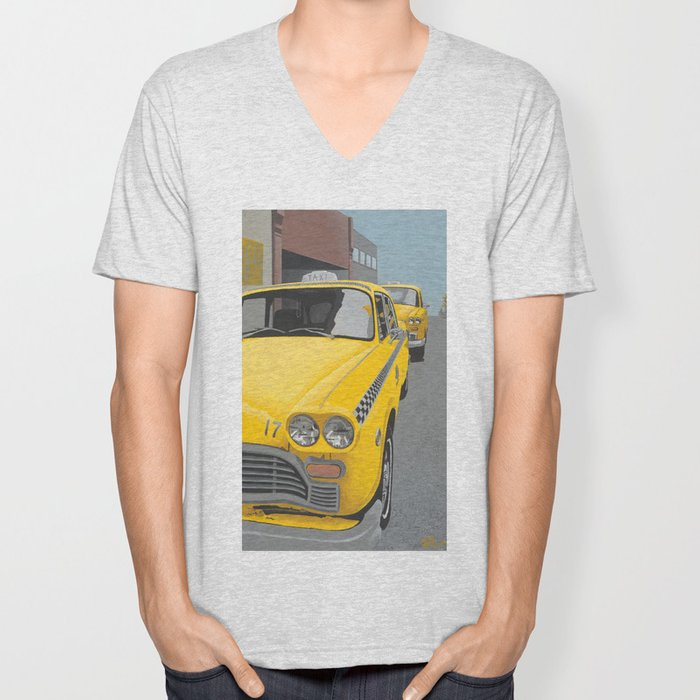 Taxi Stand version 2 Unisex V-Neck