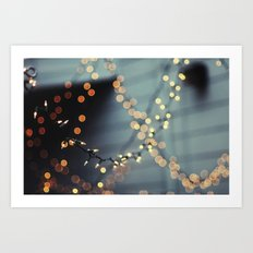 All of the lights. Art Print